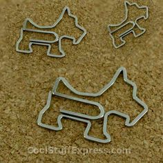 Dog Shaped Paper Clips
