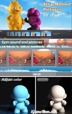 Make Stop Motion Animation & Time Lapse Pictures - fun learning for kids #kidsapps
