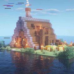 Minecraft Pixel, Minecraft Medieval, Minecraft Plans, Minecraft Room, Minecraft Survival, Minecraft Blueprints, Cool Minecraft Houses, Minecraft Crafts, Minecraft Buildings