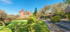 Glenborrodale Castle in the Scottish Highlands
