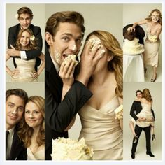 Jim + Pam=Love. I hope to have a relationship just like theirs someday even though they're fictional!