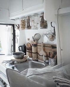 Indoor cooking ↣ #afewsquarefeet - - -#littlewhitevan#campingtrip#campinglife#campingfun#campervan#campervanning#campervanlife#camperlove#vanlifediaries#vanlifemovers#ontheroad#homeiswhereyouparkit#vanlife#homeonwheels#roadtrip#traveling#wanderlust#campervanmagazine