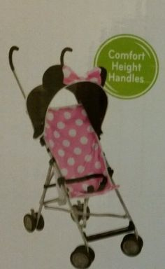 Disney Umbrella Stroller with Canopy (All about Minnie) S... //.amazon.com/dp/B01BIFKKX2/refu003dcm_sw_r_pi_dp_x_mGD5ybYPDMW3A   Strollers   Pinterest ... & Disney Umbrella Stroller with Canopy (All about Minnie) S... https ...