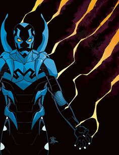 Blue Beetle - Jaime Reyes (kinda obsessed since watching the new season of young justice)