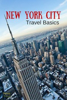 Travel Basics: Visit New York City - Peanuts or Pretzels