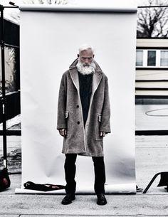 Paul Mason beard white
