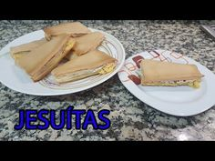 Como Faço Jesuítas - YouTube Puff Pastry Recipes, Croissant, Deserts, Food And Drink, Appetizers, Favorite Recipes, Sweets, Ethnic Recipes, Youtube