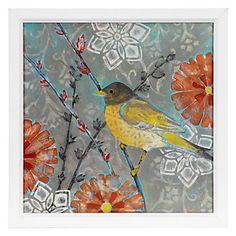 Little Wren 2 by Kate Birch.  I love bird artwork!