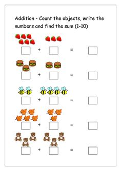 For practicing some math skills like simple addition, there is just nothing more efficient than a pencil and paper. These addition worksheets for the addition math worksheets start with simple addition. Kindergarten Addition Worksheets, Math Addition Worksheets, 1st Grade Math Worksheets, Preschool Worksheets, Printable Worksheets, Coloring Worksheets, Printable Coloring, Free Printable Numbers, Math For Kids