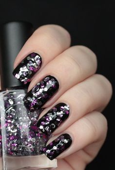 Color Club: Backstage Pass.  Who can resist a chunky glitter?