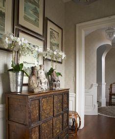 http://www.pinterest.com/joliesarts ∗  »☆Elysian-Interiors ♕Simply divine #Interiordesign ~ Chinese & Asian interiors ~ Beautiful Asian (Tibetan) cabinet