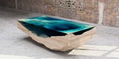 By layering, this table represents the interior section of the ocean and this think this idea can be further elaborated and applied to our focus and theme