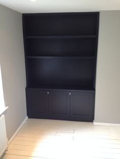 Handmade shelving, alcove unit and cabinets by Oliver Hazael Bespoke Carpentry in Bath, UK Alcove Storage Living Room, Living Room Shelves, Living Room With Fireplace, Alcove Bookshelves, Alcove Shelving, Decorating Bookshelves, Shelving Ideas, Alcove Cupboards, Built In Cupboards
