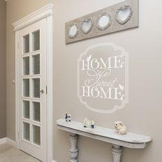 Stickers muraux: Sticker texte Home Sweet Home - Décoration murale Gali-art.com
