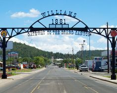 Williams, Arizona, Gateway to the Grand Canyon! http://www.experiencewilliams.com/