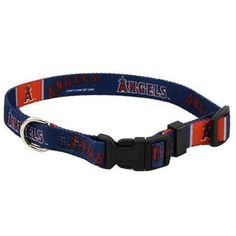 Los Angeles Angels Dog Collar - Medium #GingersDoggieHeaven