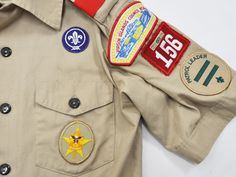 Uniform of BSA is so Nice. Big sticker and looks casually.
