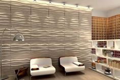 textured wall panels | Leather wall paneling, luxurious modern interior design ideas