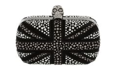 Minaudières London flag Alexander McQueen http://www.vogue.fr/mode/shopping/diaporama/shopping-londres-london-calling/14511/image/806121#!minaudieres-tete-de-mort-alexander-mcqueen-shopping-londres