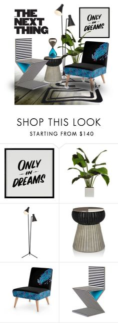 """dream :: 130617"" by irafra ❤ liked on Polyvore featuring interior, interiors, interior design, home, home decor, interior decorating, Baron Von Fancy, Mexx, Nuevo and Kelly Behun Studio"
