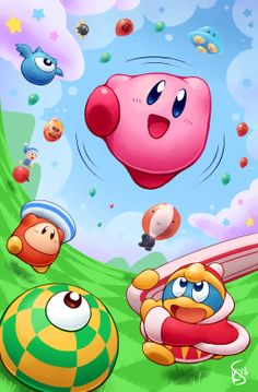 Kirby Tilt 'n' Tumble by Torkirby.deviantart.com on @deviantART
