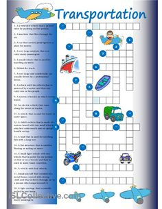 Crossword on transport. - Repinned by Chesapeake College Adult Ed. We offer free classes on the Eastern Shore of MD to help you earn your GED - H.S. Diploma or Learn English (ESL) . For GED classes contact Danielle Thomas 410-829-6043 dthomas@chesapeake.edu For ESL classes contact Karen Luceti - 410-443-1163 Kluceti@chesapeake.edu . www.chesapeake.edu