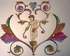 Grottesche Creazioni Manuela Lombardi Atelier Fogliaoro- Massa Marittima