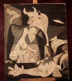 Guernica Picassa fresk