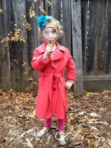 Fancy Nancy Clancy Detective coat. LePetiteArbre.com & super spy costume | halloween | Pinterest | Spy Costumes and ...