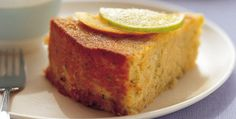 Boiled orange lime and almond cake