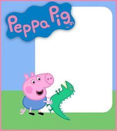 Peppa Pig Invitations: Make People Smile Invitacion Peppa Pig, Cumple Peppa Pig, Peppa Pig Birthday Invitations, Peppa Pig Birthday Cake, Peppa Pig Gratis, Birthday Plan Ideas, Peppa Pig Printables, Birthday Scrapbook Layouts, Free Invitation Templates