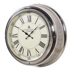 J'adore Decor - Contemporary Metal Wall Clock, £125.00 (http://www.jadoredecor.co.uk/products/contemporary-metal-wall-clock.html)