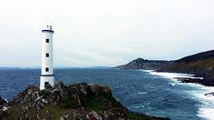 Faro do Cabo Home en donón, Galicia