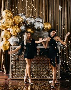Balloon Co Event Artillery Girls Night Christmas ideas event ideas party ideas wall ideas wedding decoration ideas decoration ideas Roaring 20s Party, Gatsby Themed Party, Nye Party, Disco Party, Disco Theme Parties, Disco Birthday Party, Birthday Balloons, Black Gold Party, Black And Gold Balloons