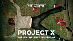 Throw the party to end all parties    ...the fact that I saw Project X recently obviously inspired this...