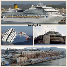 Costa Concordia ~Before and After~