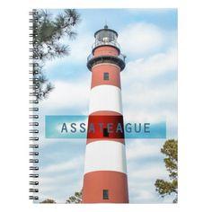 Assateague Light. Note Book