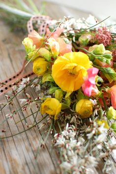 A Modern Wildflower Bouquet from Chelsea at Frolic!
