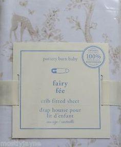 PBK Fairy Toile Toddler bed sheet
