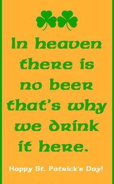 Funny irish sayings irish yoga irish joke for st for Funny irish sayings for st patrick day