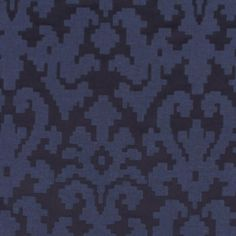 Robert Allen PUZZLE PLAY NAVY BLAZER Fabric