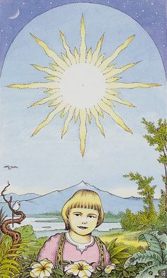 XIX.The Sun: Cosmic Tarot