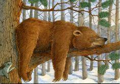 Laughing Bear ~ Jeffrey Severn, 1994