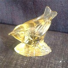 Annons på Tradera: GLASDJUR / FÅGEL I GLAS WWF PAUL HOFF Second Hand, Decor, Corning Glass, Decoration, Decorating, Deco, Embellishments