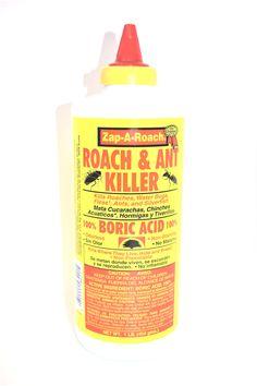 Zap A Roach 100 Boric Acid Ant 1 Lb