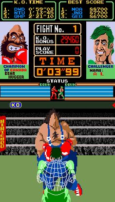 Super Punch-Out! Screenshots for Arcade - MobyGames Playstation, 90s Video Games, Martial Arts Humor, Vintage Advertisements, Ads, Nintendo, Retro Arcade, Classic Video Games, Retro Games