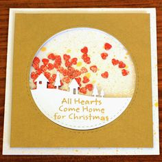 Ideas & Paper: Mixed Media Card Challenge - Home (Lace Optional)