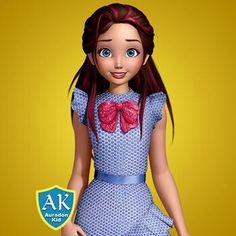 Disney Descendants Characters, Descendants Wicked World, Disney Princesses, Dreamworks Animation, Disney And Dreamworks, Disney Pixar, Disney Channel, Raiden Fighter, Disney Characters