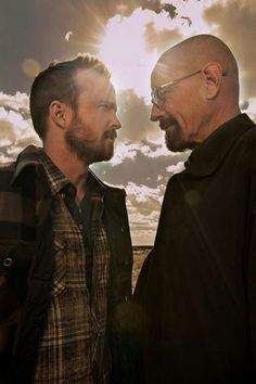 Walter White & Jesse Pinkman. I miss these two.