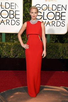 Best: Jennifer Lawrence in Dior at the 73rd Annual Golden Globe Awards.